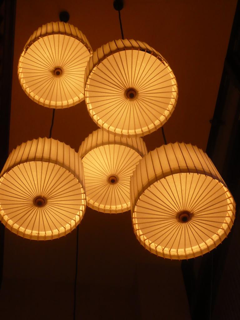 Lampe Kotori Bambus Japanpapier Weiss O 39 Cm Von Hiyoshiya