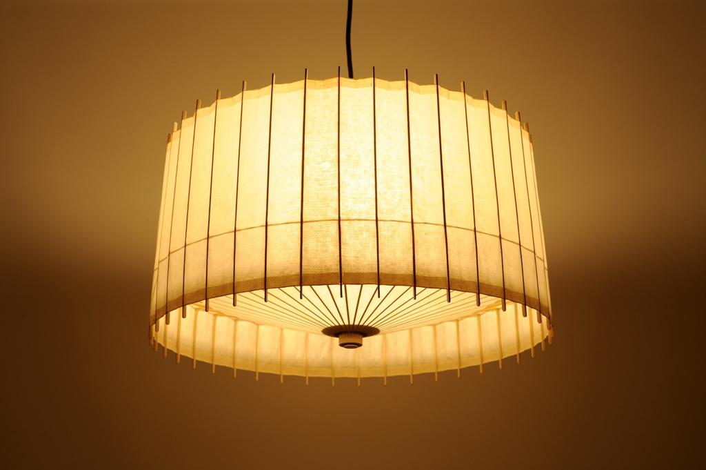 Lampe Kotori Bambus Japanpapier Weiss O 53 Cm Von Hiyoshiya