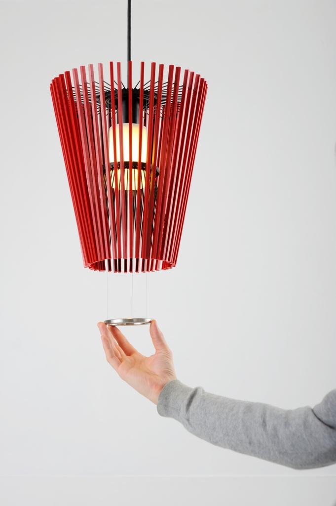 lampe moto mit beweglichem schirm wei 42cm von hiyoshiya japanische wohnaccessoires und. Black Bedroom Furniture Sets. Home Design Ideas
