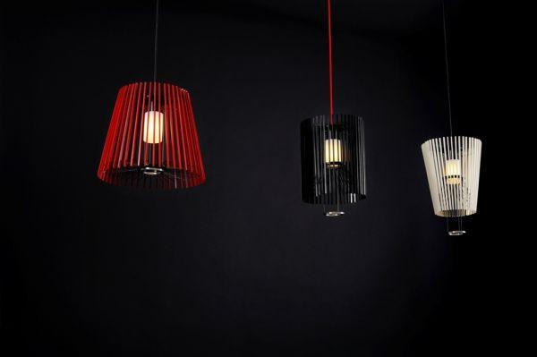 lampe moto mit beweglichem schirm rot 42cm shu shu online japanische wohnaccessoires und. Black Bedroom Furniture Sets. Home Design Ideas
