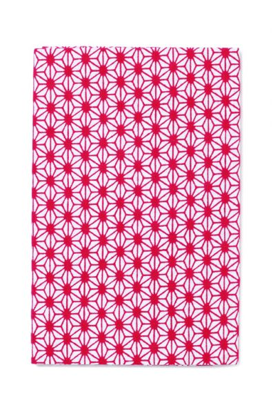 tenugui stofftuch asanoha rot aus baumwolle by kamawanu japan japanische wohnaccessoires und. Black Bedroom Furniture Sets. Home Design Ideas